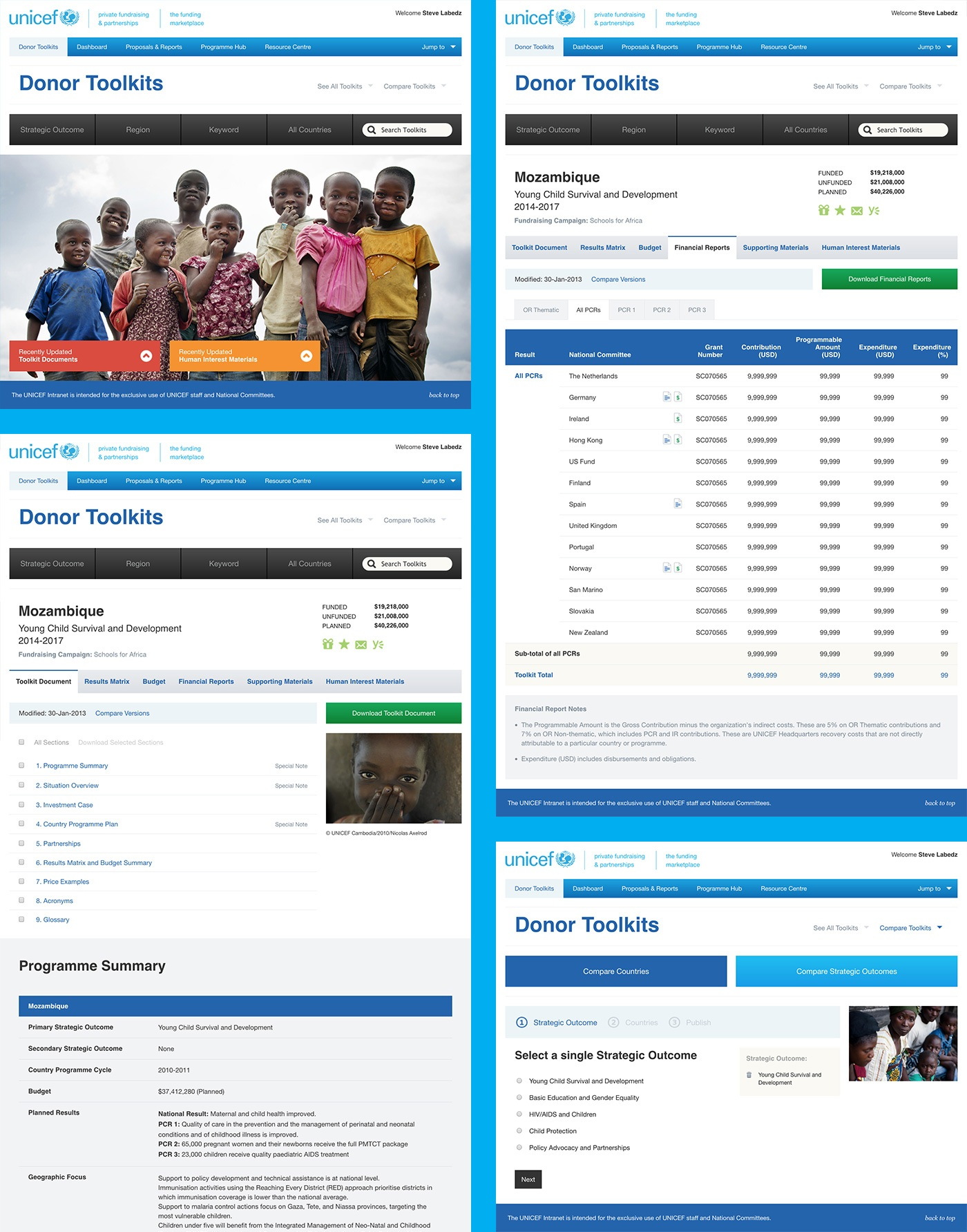 <p>The Funding Marketplace hosts a wealth of information made readily available to donors regarding programmes and initiatives associated with regions and countries.</p>