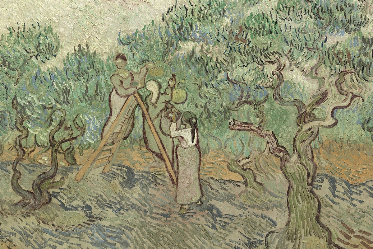Vincent van Gogh, The Olive Orchard, 1889