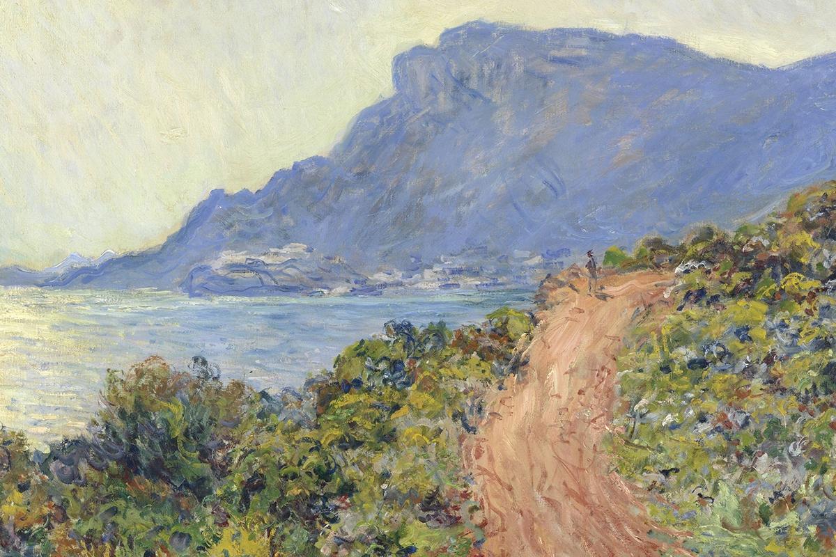 Claude Monet, La Corniche near Monaco, 1884