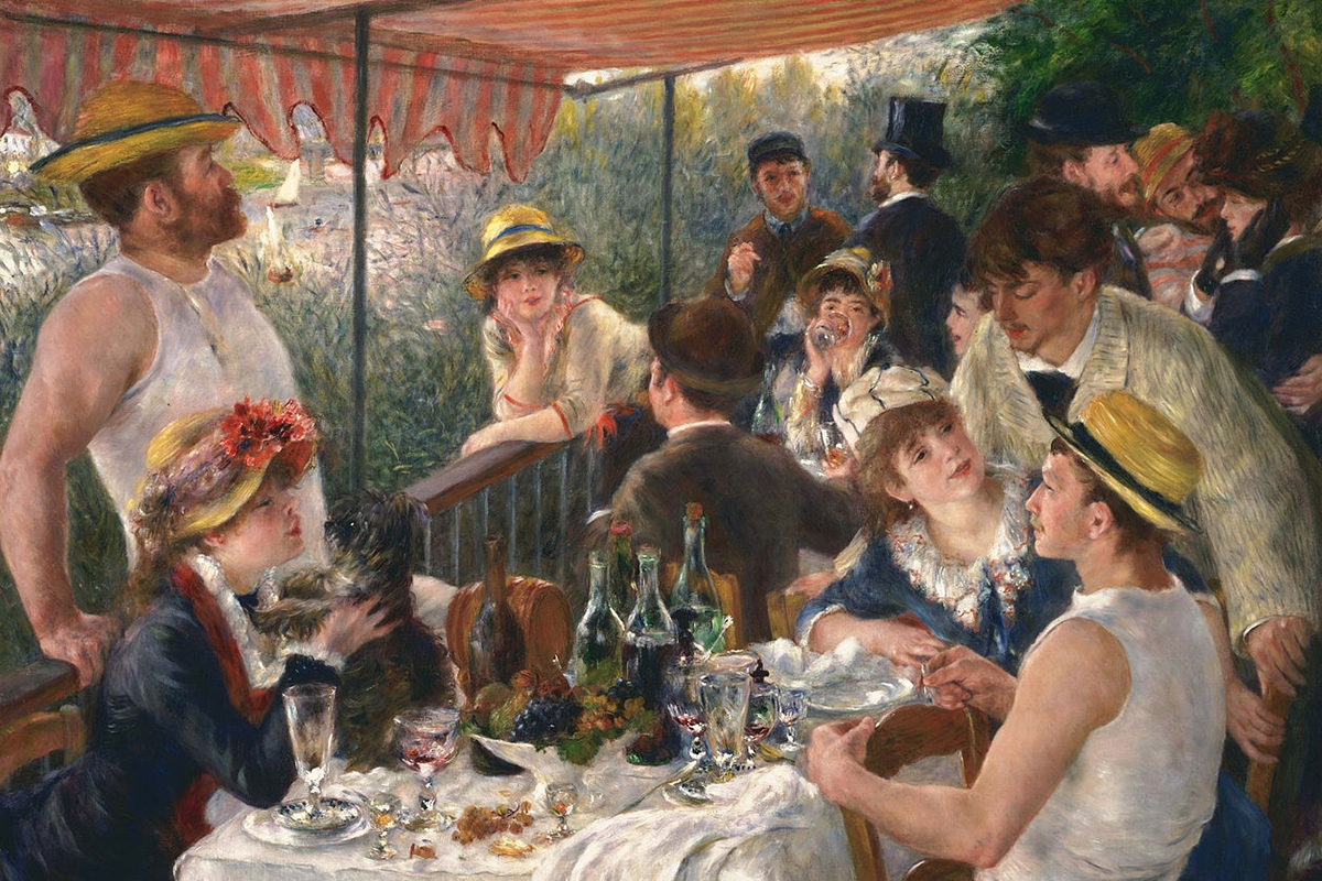 Pierre-Auguste Renoir, Luncheon of the Boating Party, 1880–1881