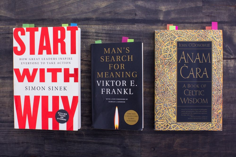 Three Must-Read Books on Leadership, Purpose, and Life